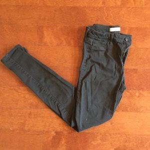 Abercrombie Olive Skinny Jean